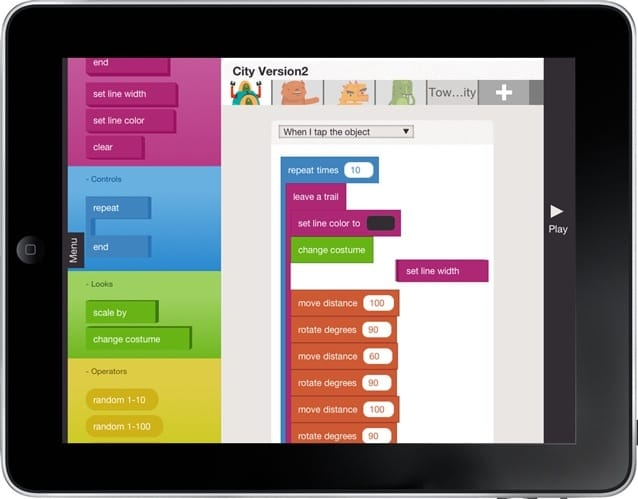 Hopscotch iPad App