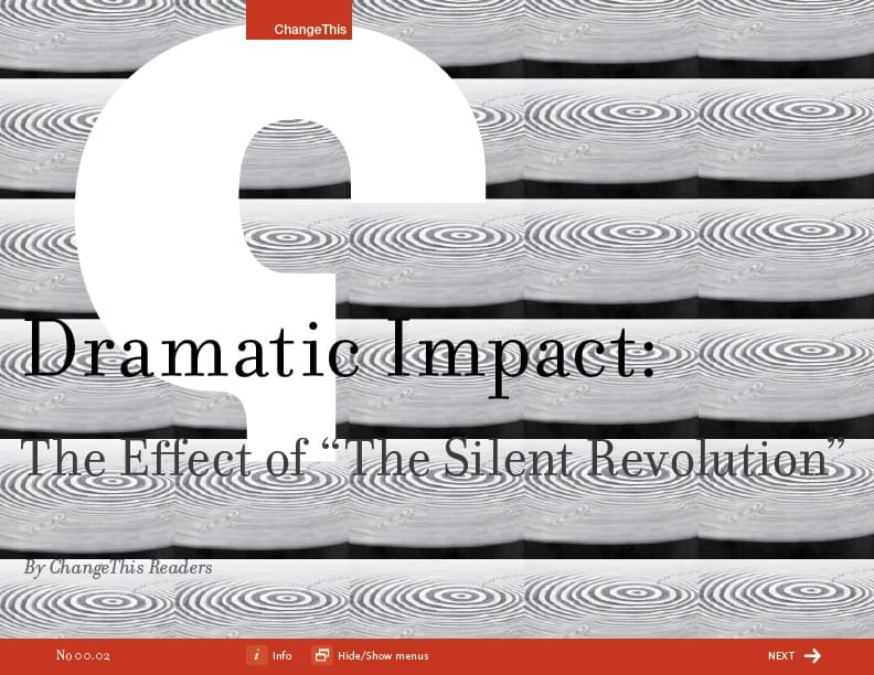 The Dramatic Impact of the Silent Revolution